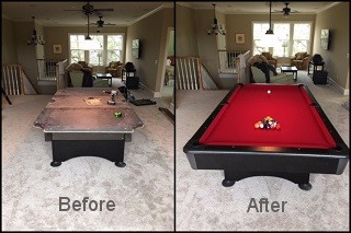 expert billiard table recovering in Atlanta content img3